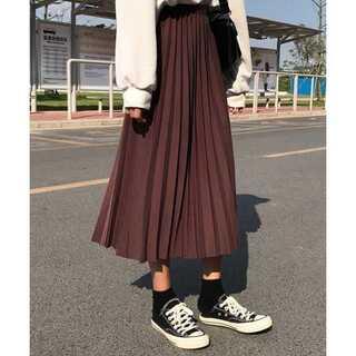 dholic - ロングプリーツスカート
