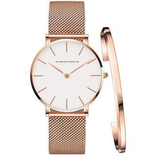 レディース 腕時計 Hannah Martin 日本製クオーツ ブレスレット