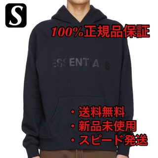 FEAR OF GOD - 【新品】ESSENTIALS FOG HOODIE NAVY S