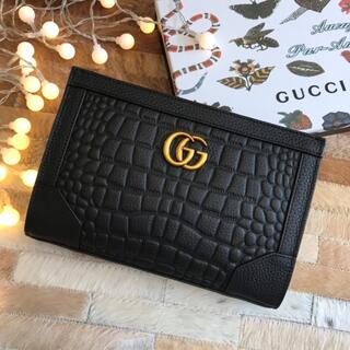Gucci - 100%牛革!🐮クラッチバッグ