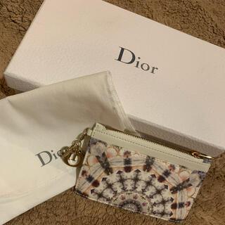クリスチャンディオール(Christian Dior)のDior ジップカードホルダー(財布)
