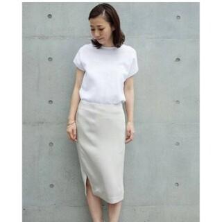 DEUXIEME CLASSE - ハンマーサテンスカート