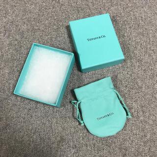 ティファニー(Tiffany & Co.)のティファニー 箱 巾着(ショップ袋)