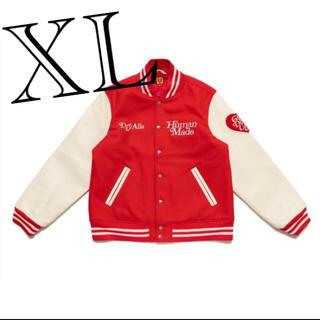 XL RED VARSITY JACKET GDC