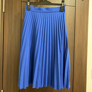 アズールバイマウジー(AZUL by moussy)の【期間限定値下げ】 moussy プリーツスカート(ひざ丈スカート)