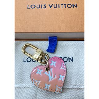 LOUIS VUITTON - 【美品】ルイヴィトン ハート グラデーション キーホルダー
