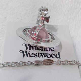 Vivienne Westwood - Vivienne Westwood スモール オーブ ネックレス ピンク