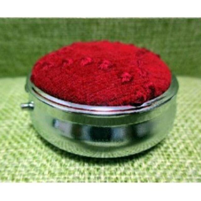 mina perhonen(ミナペルホネン)のミナペルホネン タンバリン 赤 コンパクト型ピルケース アクセサリーケース レディースのファッション小物(その他)の商品写真
