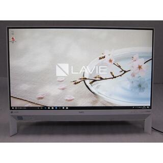 エヌイーシー(NEC)のCore i7-8550U/16G/SSD480G/23.8型フルHD/TV録画(デスクトップ型PC)