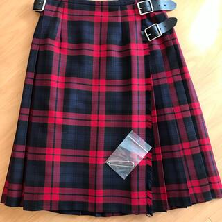 オニール(O'NEILL)のONEIL ofDUBLIN ウールラップスカート♪(ひざ丈スカート)