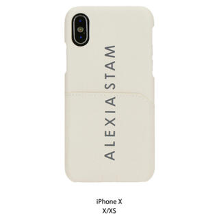 アリシアスタン(ALEXIA STAM)のalexiastam Logo iPhone Case Sand Beige (iPhoneケース)