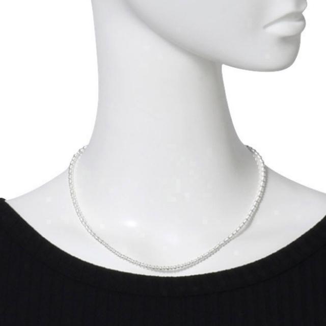 Ron Herman(ロンハーマン)のナバホパール ELLE ロンハーマン ネックレス silverスターリング925 レディースのアクセサリー(ネックレス)の商品写真