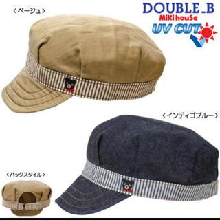 ダブルビー(DOUBLE.B)のダブルビー   キャスケット 帽子 新品(帽子)