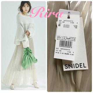 snidel - 完売色🌷新作新品🍀スナイデル シアープリーツスカート