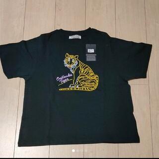 オニツカタイガー(Onitsuka Tiger)のオニツカタイガー レディースTシャツ(Tシャツ(半袖/袖なし))