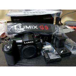 Panasonic - 《値下げ》LUMIX G9PRO 予備純正バッテリー4個付き