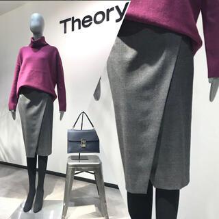 theory - 美品 セオリー ラップスカート 定価37400円