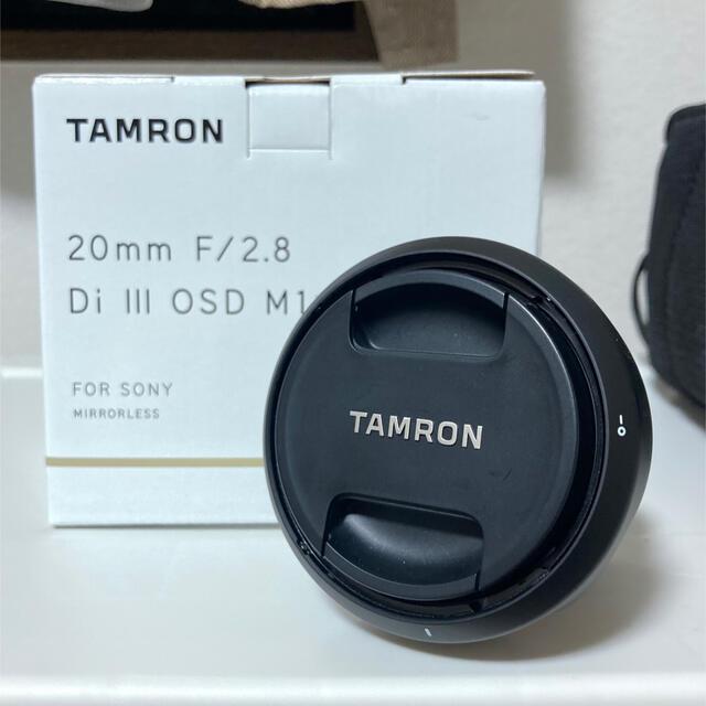 TAMRON(タムロン)のタムロン 20mm F/2.8 Di III OSD (Model F050) スマホ/家電/カメラのカメラ(レンズ(単焦点))の商品写真
