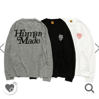 human made  girls don't cry  ロンT xl 白
