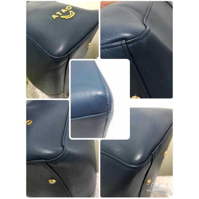 ATAO(アタオ)のATAO  ラボ  ☆ネイビー☆美品☆保存袋あり☆値引きしました レディースのバッグ(ショルダーバッグ)の商品写真
