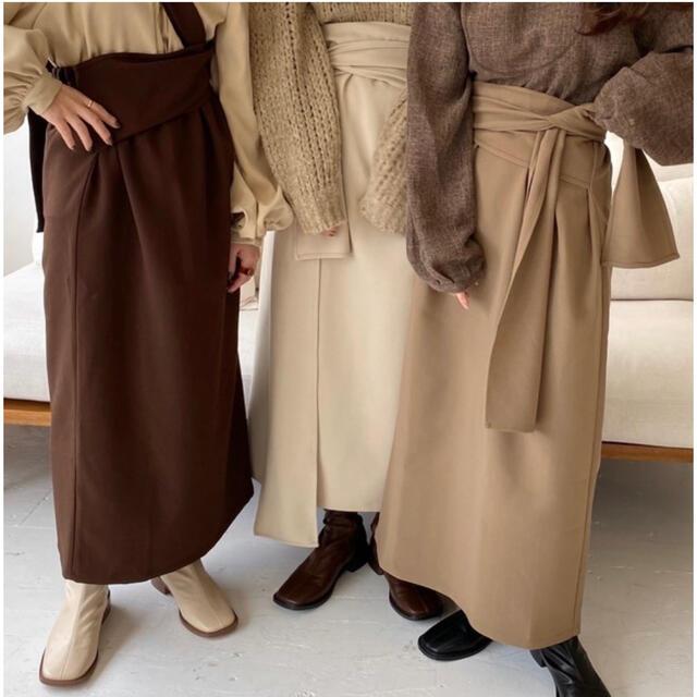 Kastane(カスタネ)のlawgy original wrap skirt  レディースのスカート(ロングスカート)の商品写真