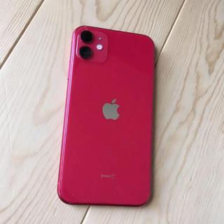 Apple - 【2020年5月購入。バッテリー100%】iphone11 64gb