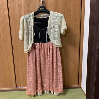 アクシーズファム(axes femme)のaxes femme ドレス (ミディアムドレス)