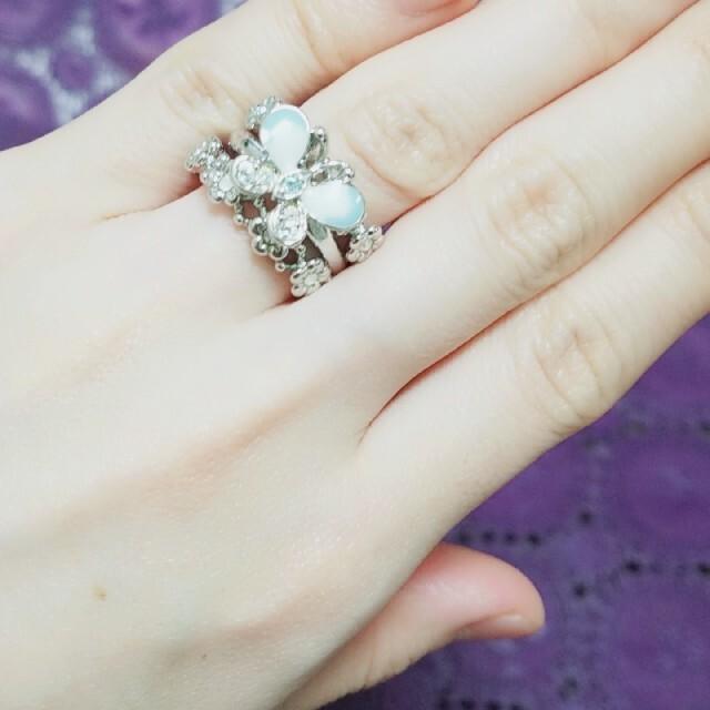 ANNA SUI(アナスイ)のANNA SUI 3連リング レディースのアクセサリー(リング(指輪))の商品写真