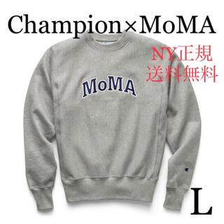 Champion - Champion MoMA チャンピオン モマ コラボ スウェット グレー L