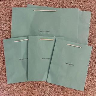 ティファニー(Tiffany & Co.)の*ティファニー ショップ袋×5セット*(ショップ袋)