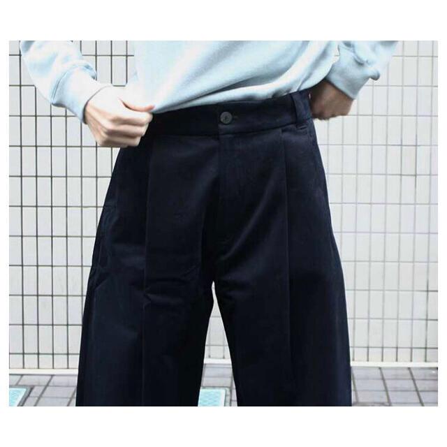 1LDK SELECT(ワンエルディーケーセレクト)の20ss studio nicholson BRIDGE PANTS サイズL メンズのパンツ(スラックス)の商品写真