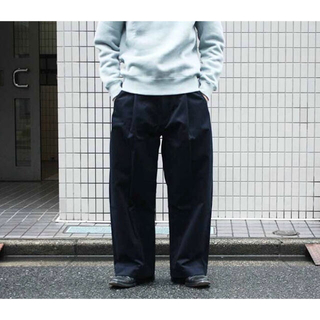 1LDK SELECT - 20ss studio nicholson BRIDGE PANTS サイズL