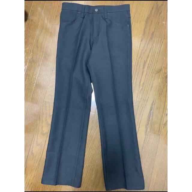 Wrangler(ラングラー)のwrangler ブラック パンツ フレアパンツ メンズのパンツ(デニム/ジーンズ)の商品写真