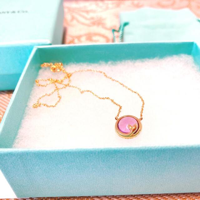 Tiffany & Co.(ティファニー)のTiffany アメジスト K18 ネックレス レディースのアクセサリー(ネックレス)の商品写真