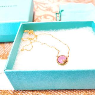 Tiffany & Co. - Tiffany アメジスト K18 ネックレス