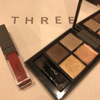 THREE - THREE ディメンショナルビジョン アイパレット キット X01 限定色
