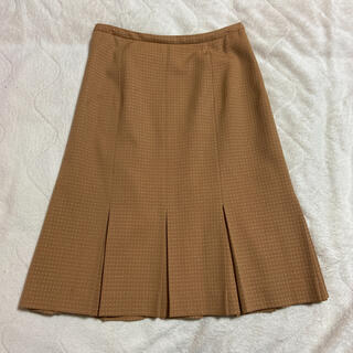 ロペ(ROPE)のROPE ベージュスカート(ひざ丈スカート)