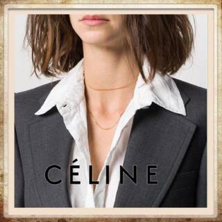 セリーヌ(celine)のReonloveee様専用 CELINE セリーヌ ロングネックレス✨⛓✨✨(ネックレス)
