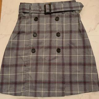 INGNI - イングベルト付きチェック柄スカート
