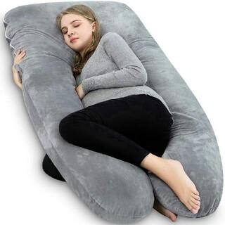 抱き枕  妊婦 枕 男女兼用 腰痛緩和 横向き寝 授乳 マタニティ U型 U字