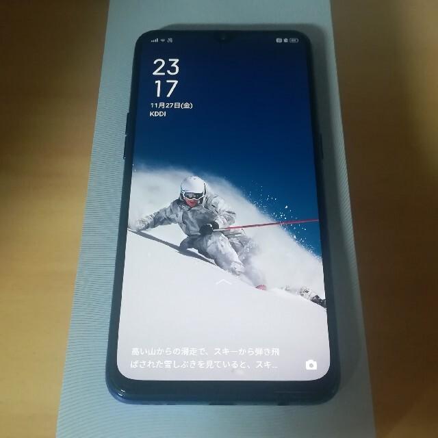 ANDROID(アンドロイド)のSIMフリー OPPO Reno A 64GB スマホ/家電/カメラのスマートフォン/携帯電話(スマートフォン本体)の商品写真