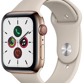 アップルウォッチ(Apple Watch)の Apple Watch Series5 GPS+Cellularモデル (腕時計(デジタル))
