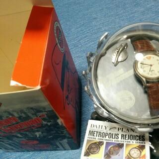 フォッシル(FOSSIL)の【ジャンク】フォッシル スーパーマン 限定 時計(腕時計(アナログ))