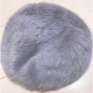 スピンズ(SPINNS)のファーベレー帽(ハンチング/ベレー帽)