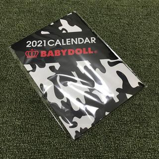 ベビードール(BABYDOLL)の新品未開封◆BABYDOLL 2021年カレンダー(カレンダー/スケジュール)