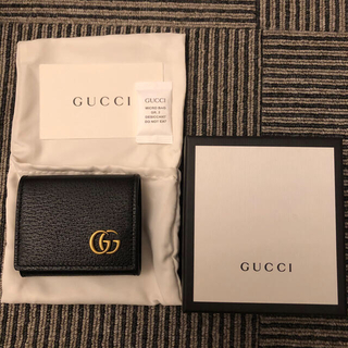 Gucci - GUCCI グッチGGマーモント新品未使用レザーコインパース小銭入れ