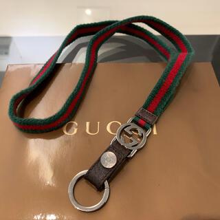 Gucci - グッチ GG シェリー ウェブ ネックストラップ ネックレス