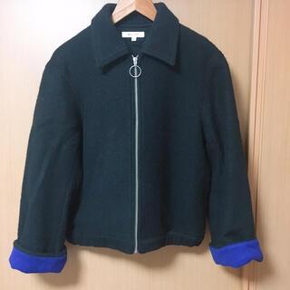 マウジー(moussy)のmoussy 袖Blue jacket(ブルゾン)