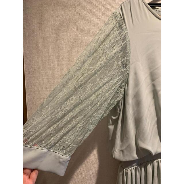 noannuパーティドレス大きいサイズ4Lサイズ新品 レディースのフォーマル/ドレス(ミディアムドレス)の商品写真