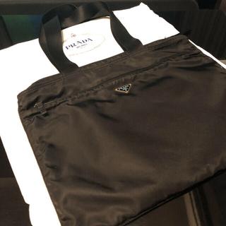 PRADA - PRADA ナイロントートバッグ ユニセックス ブラック